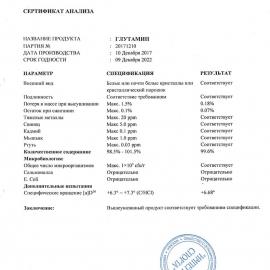 Глютамин 100/300 гр
