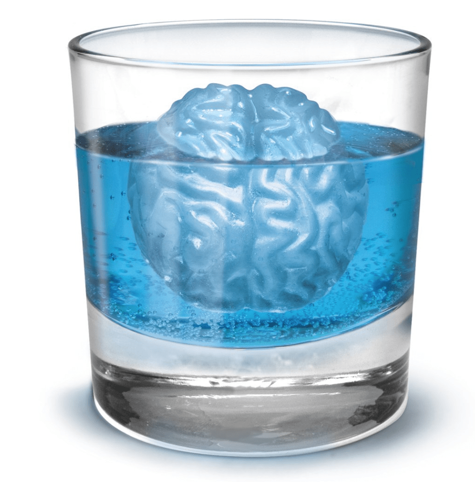 zombie brain ice cubes