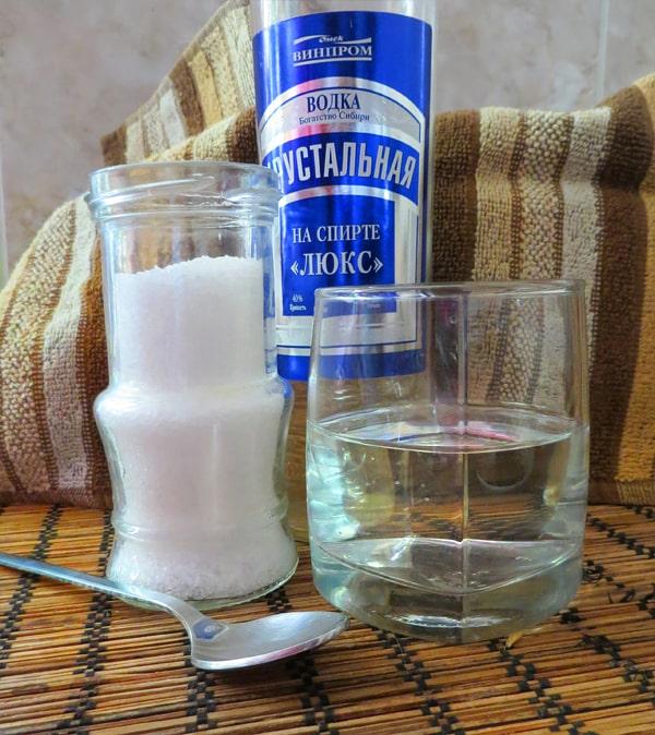 водка для горла рецепт
